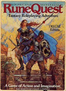 <i>RuneQuest</i> role-playing game