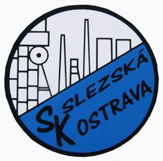 FC Baník Ostrava - First emblem of the club. Drawn by Karel Aniol.