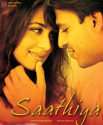 Saathiya (film) - Theatrical release poster
