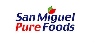 San Miguel Food and Beverage - Former logo as San Miguel Pure Foods from 2001 to 2018.