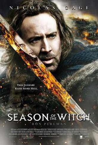 Season of the Witch (2011 film) - Relativity's theatrical release poster