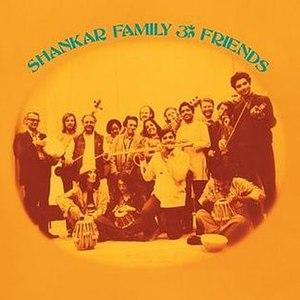 Shankar Family & Friends - Image: Shankar Family&Friends album cover