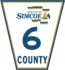 Simcoe Road 6 sign.png