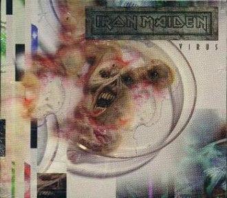 Virus (Iron Maiden song) - Image: Single 30b virus 2 a small