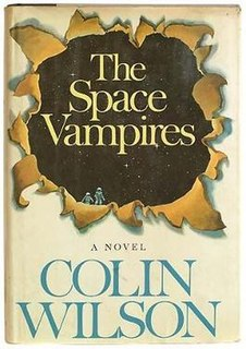 <i>The Space Vampires</i> book by Colin Wilson