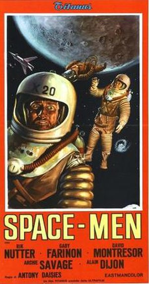 Space-Men - Italian Theatrical release poster