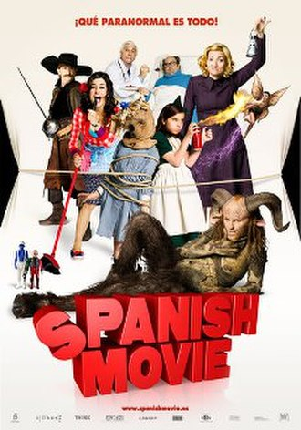 Spanish Movie - Theatrical release poster