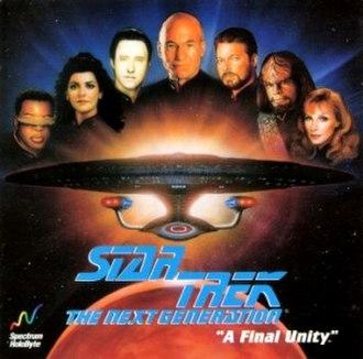 Star Trek: The Next Generation – A Final Unity - Image: Star Trek TNG A Final Unity