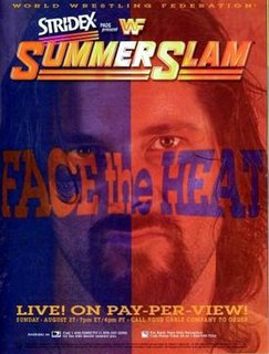 SummerSlam (1995) 1995 World Wrestling Federation pay-per-view event