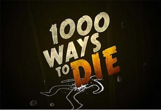 1000 Ways to Die - Title screen