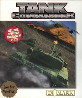 <i>Tank Commander</i> (video game) 1995 video game