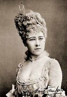 Marie Tempest English singer and actor