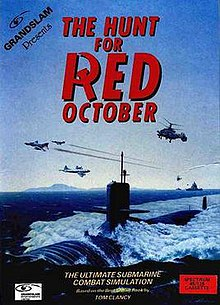 The Hunt For Red October 1987 Video Game Wikipedia