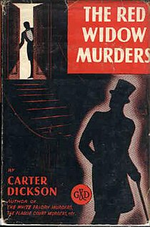 <i>The Red Widow Murders</i> book by John Dickson Carr
