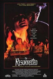 <i>The Resurrected</i> 1991 film directed by Dan OBannon