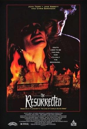 The Resurrected - Original poster