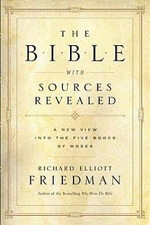 <i>The Bible with Sources Revealed</i> book by Richard Elliott Friedman