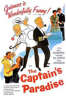 <i>The Captains Paradise</i> 1953 film by Anthony Kimmins