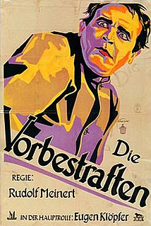 <i>The Convicted</i> 1927 film by Rudolf Meinert