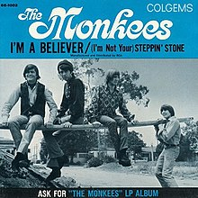 The Monkees single 02 I'm a Believer.jpg