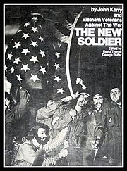 Kerry co-authored the book The New Soldier with the VVAW.