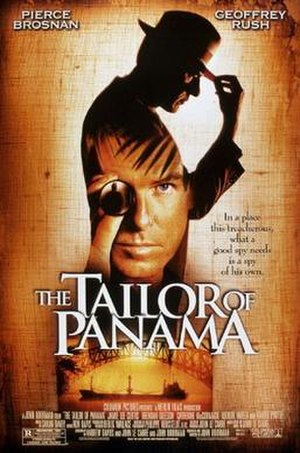 The Tailor of Panama (film) - Theatrical release poster