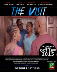 The Visit 2015 poster Nigeria.png