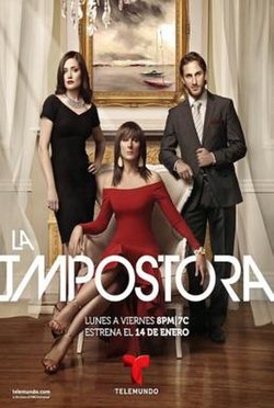 This is a poster for La Impostora.jpg