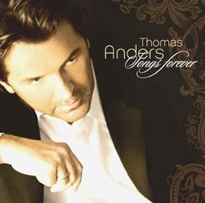 Songs Forever - Image: Thomas anders songs forever cover