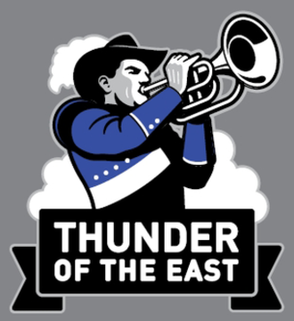 Thunder of the East Marching Band - Image: Thunder of the East logo