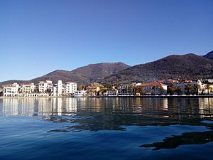 Tivat - Image: Tivat from sea 1
