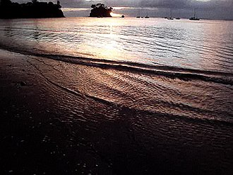 Torbay, New Zealand - Torbay beach at sunrise