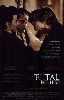 <i>Total Eclipse</i> (film) 1996 film by Agnieszka Holland