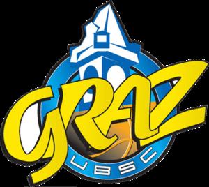UBSC Graz - Image: UBSC Raiffeisen Graz logo