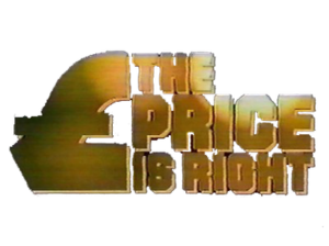 The Price Is Right (UK game show) - Logo from Leslie Crowther-era.