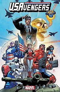 <i>U.S.Avengers</i> American comic book series