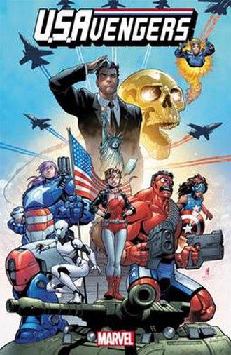 U.S.Avengers - Image: US Avengers 01 cover