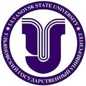 Ulyanovsk State University - Image: Ulyanovsk State University Logo