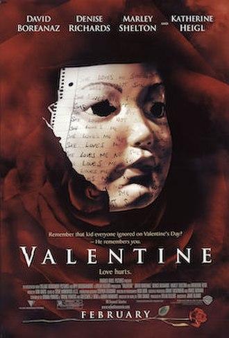 Valentine (film) - Theatrical release poster