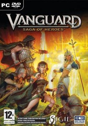 Vanguard: Saga of Heroes - Image: Vanguard Saga of Heroes