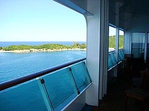 MS Explorer of the Seas - Image: Viewfrom Royalsuite