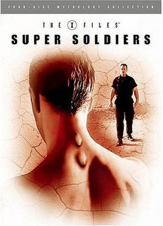The X-Files Mythology, Volume 4 – Super Soldiers - Region 1 DVD cover