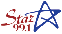 WAHR Star99.1 logo.png