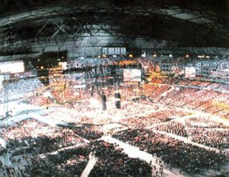 WrestleMania XIX - An attendance record-setting 54,097 fans at Safeco Field for WrestleMania XIX