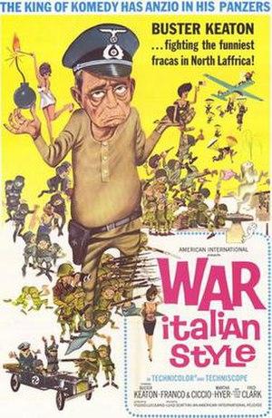 War Italian Style - Original American film poster
