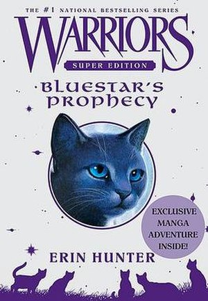 Bluestar's Prophecy - Cover features Bluestar.