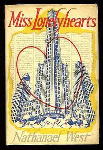 Miss Lonelyhearts - 1949 first UK edition cover