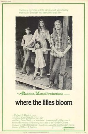 Where the Lilies Bloom - Movie poster