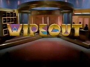 Wipeout (1988 U.S. game show) - Image: Wipeout 1988Logo