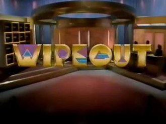 Wipeout (1988 U.S. game show) - Image: Wipeout 1988Logo